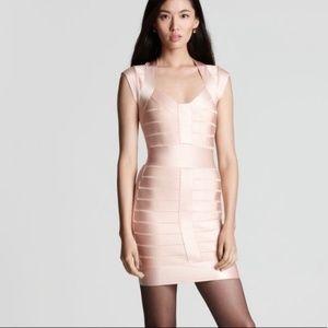 French Connection Cap-Sleeve Bandage Dress 2 - 4